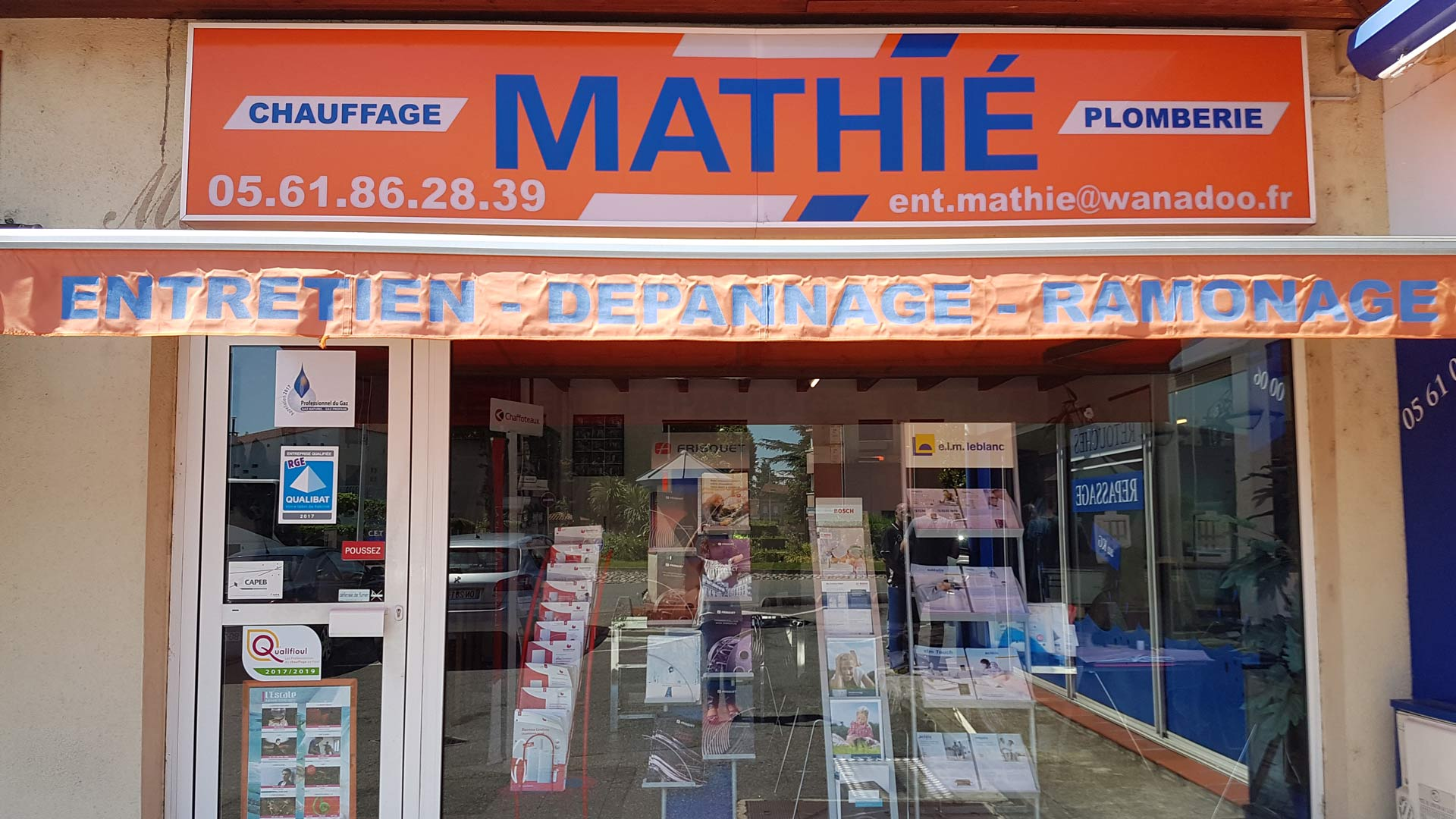 devanture magasin matie